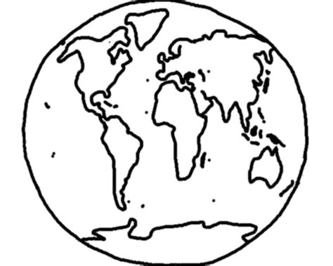 World Outline Drawing by World Map Line Drawing Clipart Best
