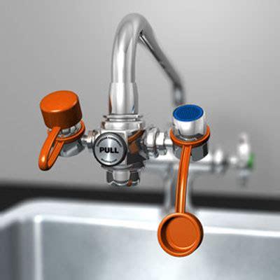 guardian eyesafe faucet mounted eyewash station seton