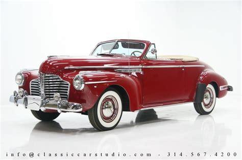 1941 buick convertible 1941 buick 8 convertible classic car studio