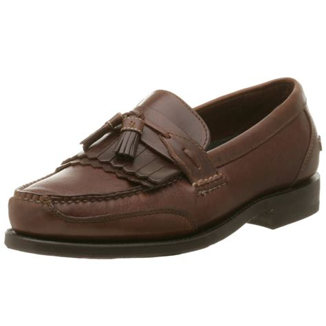 mens loafers neil m mens murphy tassel loafer in brown for walnut
