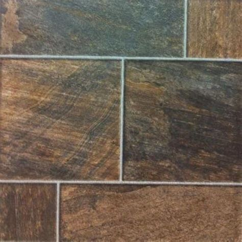 hton bay bronze random slate laminate flooring 5 in