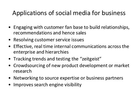 Mba Relationship Recommender by Social Media For Business Soton Mba