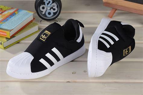Adidas Slip On Platinum Hitam 1 baby trainers new collection adidas superstar slip on