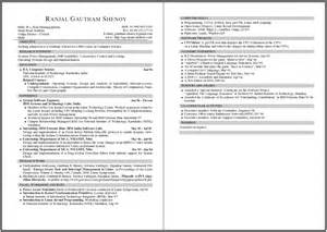 Exles Of 2 Page Resumes by Giz Images Resume Post 23