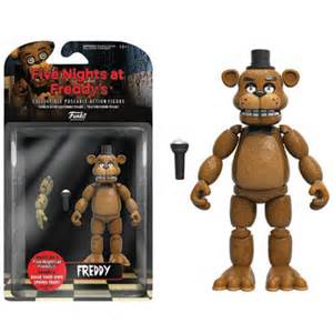 Five nights at freddy s freddy 5 inch action figure merchandise