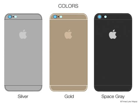 iphone 6 color choices iphone 6 assembled what apple s smartphone could