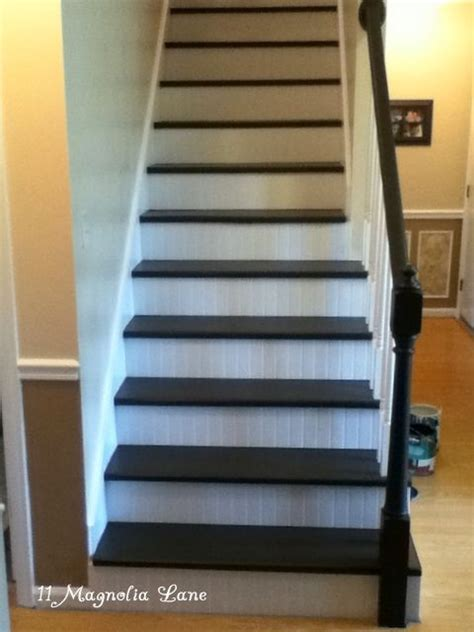 beadboard stairs 17 best images about stairs on carpets foyer