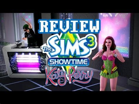 The Sims3 Show Time lgr the sims 3 showtime review