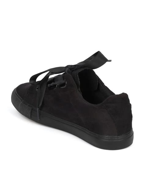 5 More Shoe To Indulge In by Shoes Indulge Roy Faux Suede Toe Ribbon Lace