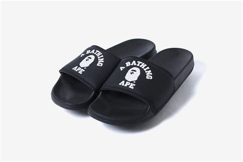 bape college slide sandals what drops now