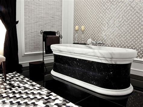 Black And White Bathroom Designs Bold Beautiful Black And White Bathroom Design Ideas