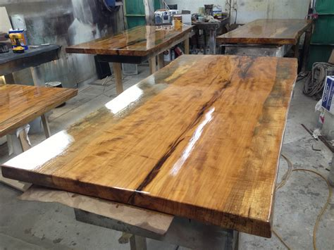 wood slabs table tops
