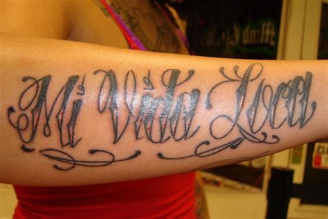my crazy life tattoo mi vida loca my by yelp
