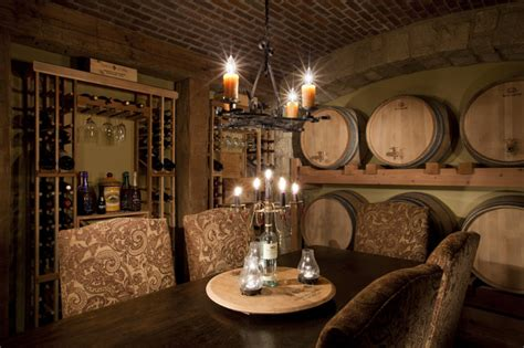 wine room decor courtyard house wine room traditional wine cellar kansas city by rothers design build