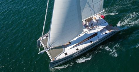 sailing catamaran windquest upview yacht charter