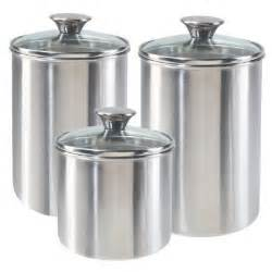 kitchen canister sets stainless steel canisters baking is hot