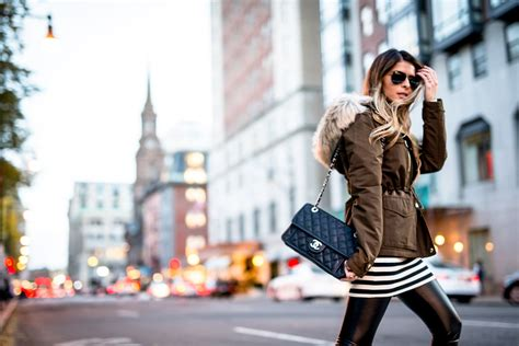 how to look fashionable in a parka