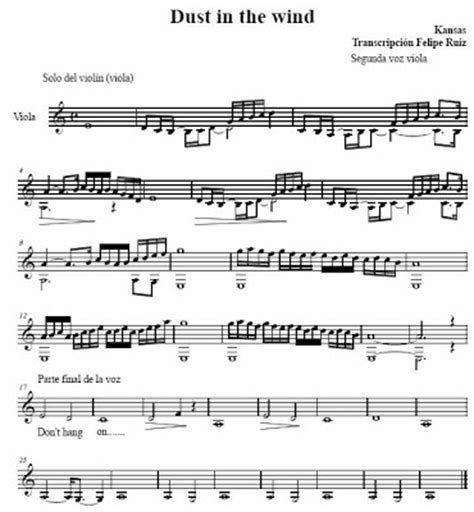 tutorial piano dust in the wind dust in the wind violin solo sheet music pdf rock guitar