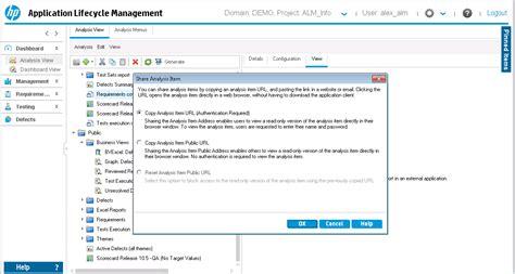 hp alm report templates hp alm 12