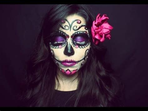 tutorial makeup catrina sugar skull makeup tutorial maquillaje de catrina