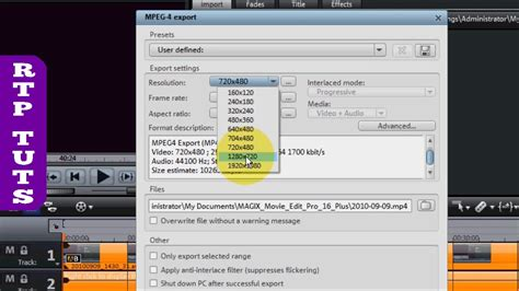 format file film best video format for youtube with magix movie edit pro 16