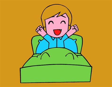 imagenes infantiles de good morning dibujo de hora de levantarse pintado por en dibujos net el