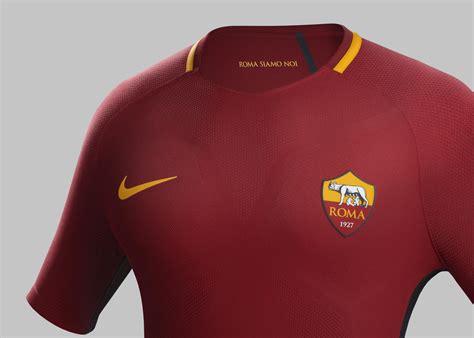 Tshirt As Roma 17 as roma home kit 2017 18 nike news