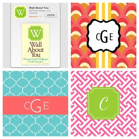 Apple Logo With Chevron Pattern Iphone Semua Hp make a monogram wallpaper wallpapersafari