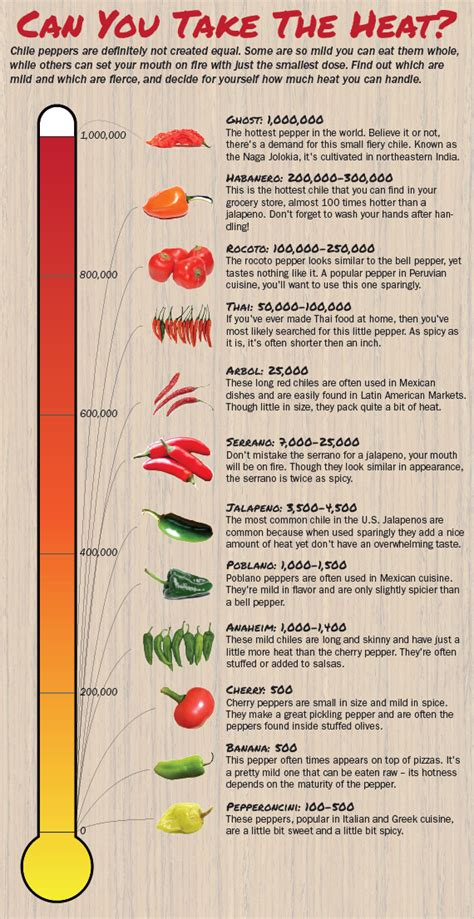 How Can You Leave A Heat L On by Chile Pepper Heat Scale A Guide To The Spiciest Capsicums