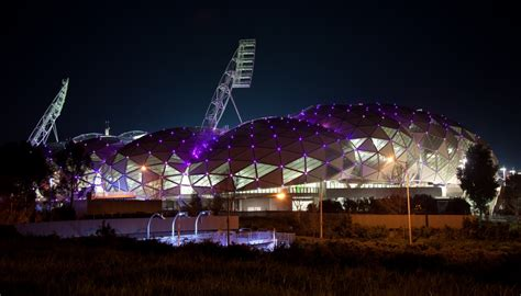 Arena Lights Roof Lighting Aami Park