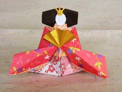 Hinamatsuri Origami - origami hina dolls for hinamatsuri s festival in
