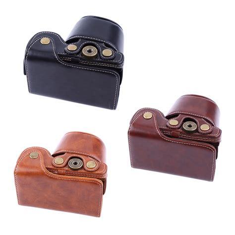 Sony Alpha A6000 A6300 Leather Bag Tas Kulit Kamera Digita kopen wholesale retro tassen uit china retro
