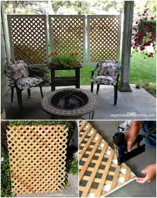 Diy Backyard Screen by 10 Diy Patio Privacy Screen Projects Free Plan