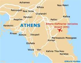 where is athens on map map of athens airport ath orientation and maps for ath