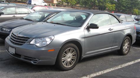 file 2008 chrysler sebring convertible jpg wikimedia commons