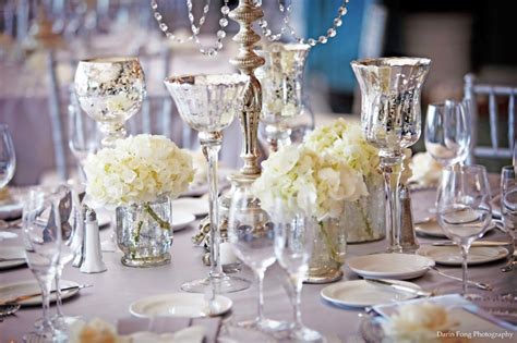 Vases Centerpieces Weddings by Wedding Reception Decor Centerpiece Vases Mercury