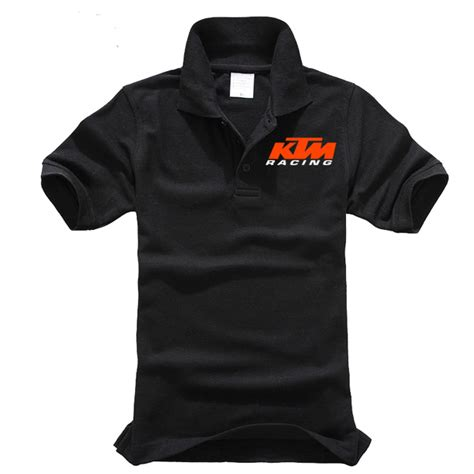 Polo Shirt Automotive 01 Ordinal polo shirts ktm cotton motorcycle sleeved t shirts car fans and can be custom