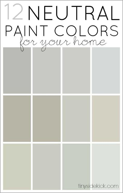 neutral room colors how to choose neutral paint colors 12 neutrals
