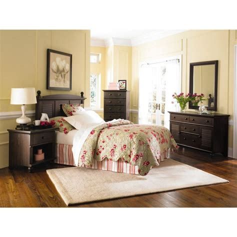 harbor view antiqued paint headboard 401326