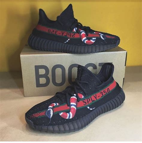 Adidas Yeezy Boost Medal V2 X Gucci adidas yeezy boost 350 v2 gucci customs adidas yeezy boost yeezy and adidas