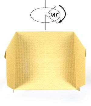 3d Origami House - how to make a 3d origami house page 7