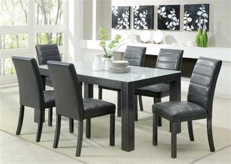 gray leather dining room chairs grey leather chairs dining room dining chairs design