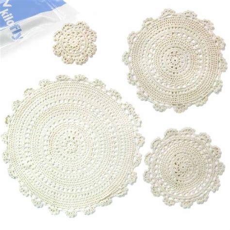 Doily Mix Pack kilofly cominhkpr64065 kilofly handmade crochet cotton lace table placemats doilies