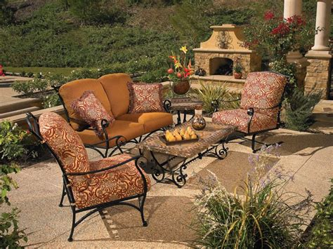 patio furniture wrought iron western wrought iron patio furniture
