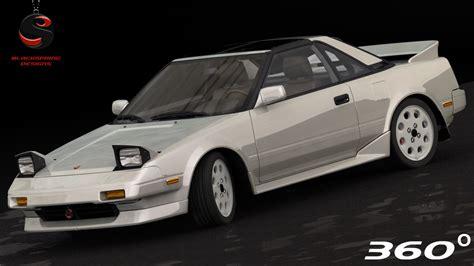 Toyota 1989 Models 3d Toyota Mr2 1989 Model