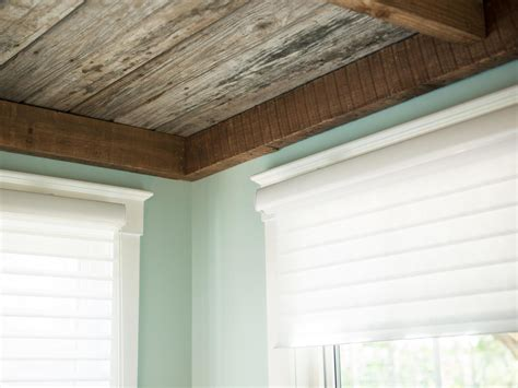 Half Wall Wood Paneling by How To Weather And Distress New Wood How Tos Diy