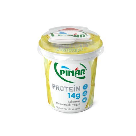 protein yogurt pınar laktozsuz protein yoğurt muzlu yulaflı 180 gr