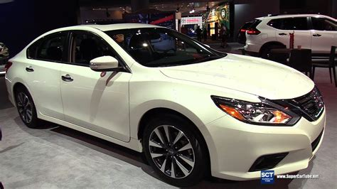 nissan altima coupe 2017 interior 2017 nissan altima sv exterior and interior walkaround