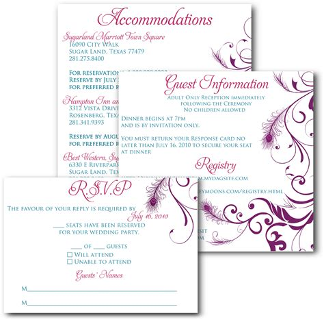 how to print your own rsvp cards burris computer forms