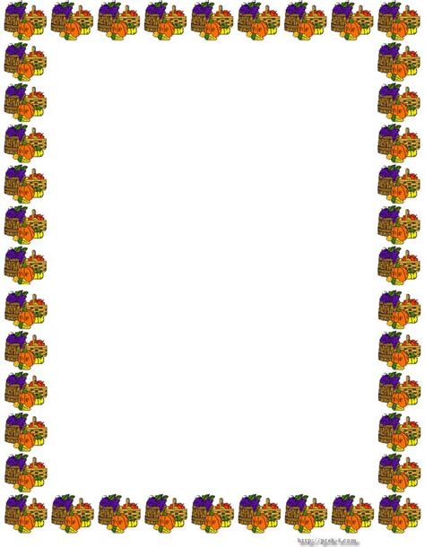 printable turkey paper thanksgiving borders thanksgiving border paper